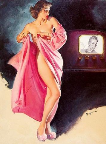 viendo la tele post muerte